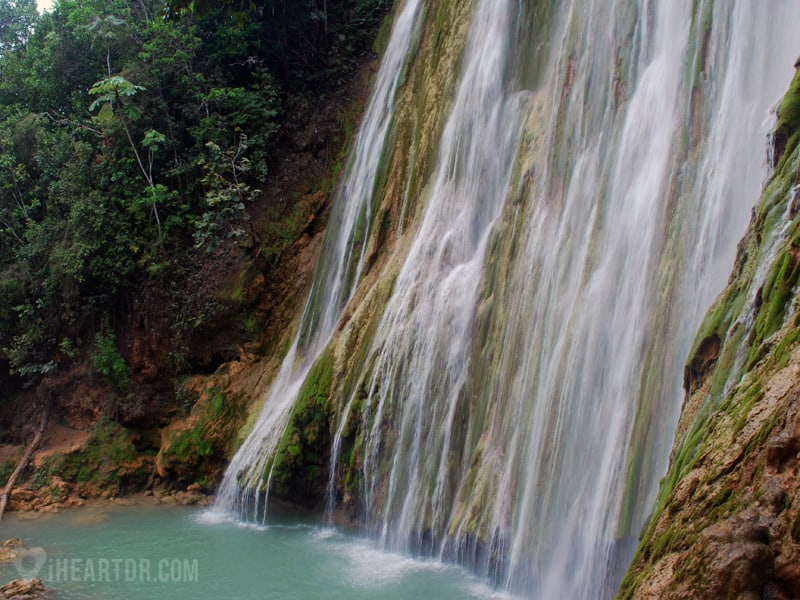 Salto del Limon waterfall in Samana