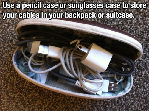 How to park your chords when traveling
