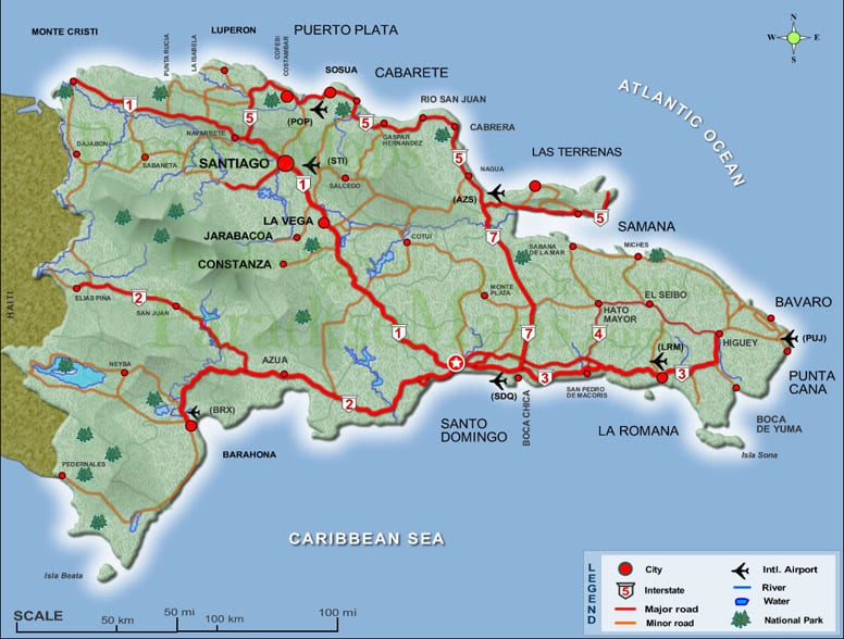 Geography Of The Dominican Republic Iheartdr