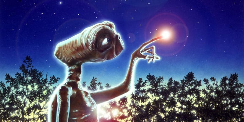 E.T. finger lit up