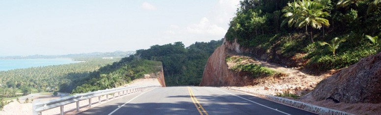 Part of the Samana highway
