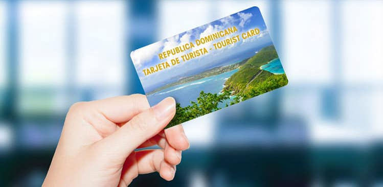 Tourist card needed to enter the Dominican Republic